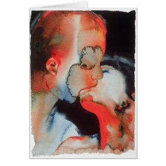 Close-up Kiss 1988 Card