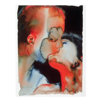 Close-up Kiss 1988 Postcard