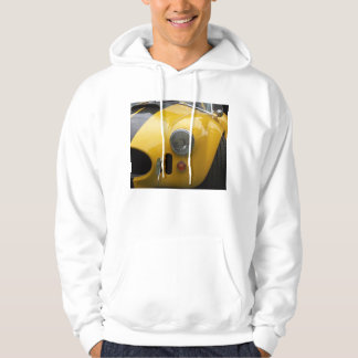close up little yellow sportster hoodie