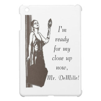 Close Up, Mr. DeMille iPad Mini Case