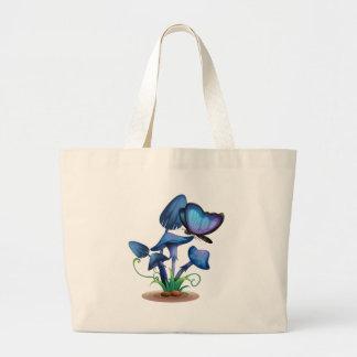 Close up mushroom jumbo tote bag