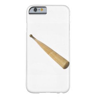 Close up of a baseball bat barely there iPhone 6 case