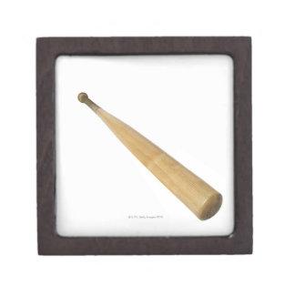 Close up of a baseball bat jewelry box