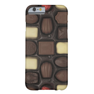 close-up of a box of assorted chocolates barely there iPhone 6 case