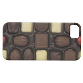 close-up of a box of assorted chocolates iPhone 5 cover
