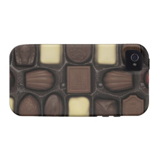 close-up of a box of assorted chocolates iPhone 4/4S cover