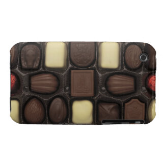 close-up of a box of assorted chocolates iPhone 3 Case-Mate cases