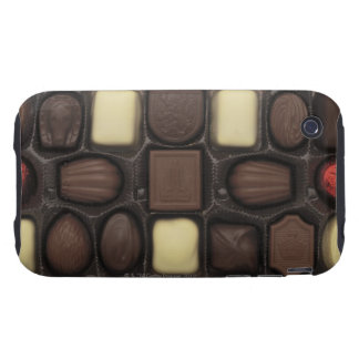 close-up of a box of assorted chocolates iPhone 3 tough case