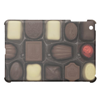 close-up of a box of assorted chocolates iPad mini cover