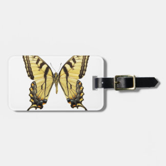 Close-up of a butterfly 2 luggage tag