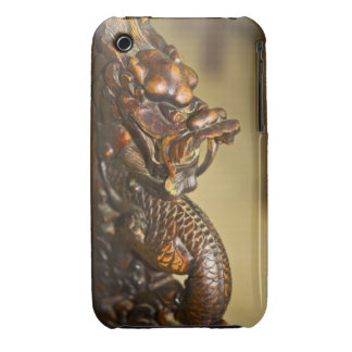 Close-up of a Chinese dragon statue, HohHot, iPhone 3 Cover