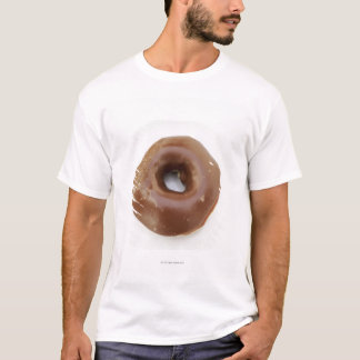 Close-up of a chocolate doughnut on a plate T-Shirt