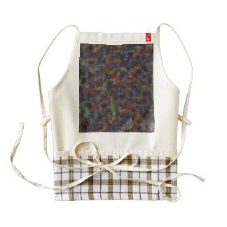 Close up of a cloth texture zazzle HEART apron