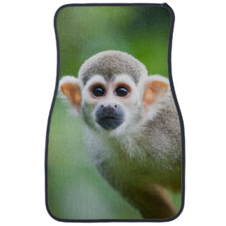 Close-up of a Common Squirrel Monkey Car Floor Mat