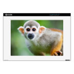 Close-up of a Common Squirrel Monkey Laptop Skins