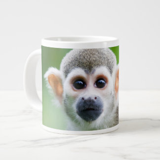 Close-up of a Common Squirrel Monkey Large Coffee Mug
