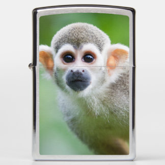 Close-up of a Common Squirrel Monkey Zippo Lighter