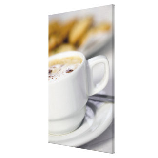 Close-up of a cup of coffee 2 stretched canvas prints