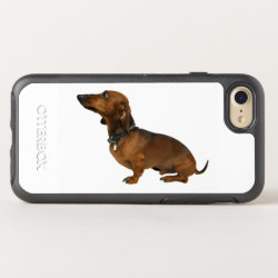 OtterBox Apple iPhone 7 Symmetry Case with Dachshund Phone Cases design