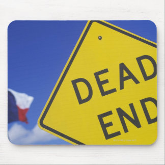 Close-up of a dead end sign, Texas, USA Mouse Pad