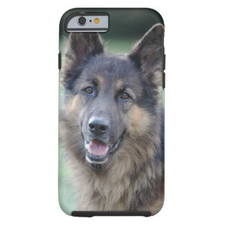 close-up of a dog face tough iPhone 6 case