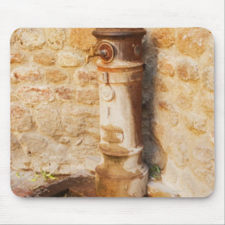 Close-up of a faucet, Siena Province, Tuscany, 2 Mouse Pad
