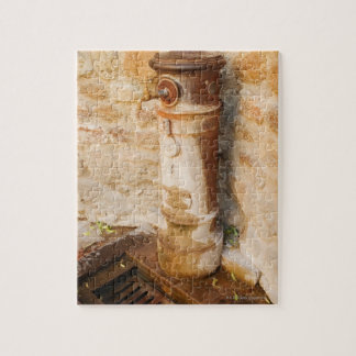 Close-up of a faucet, Siena Province, Tuscany, Jigsaw Puzzle