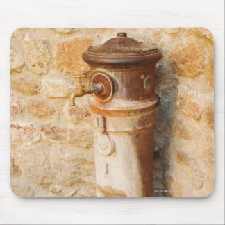 Close-up of a faucet, Siena Province, Tuscany, Mouse Pad