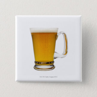 Close up of a glass of beer 2 button