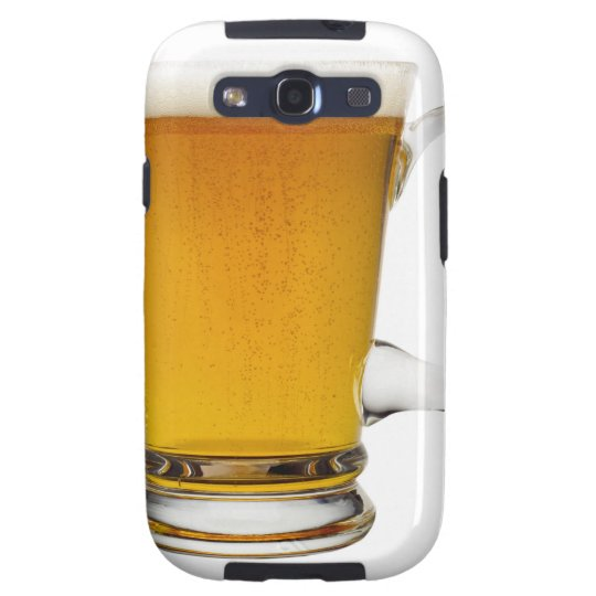 Close up of a glass of beer 2 galaxy s3 cover