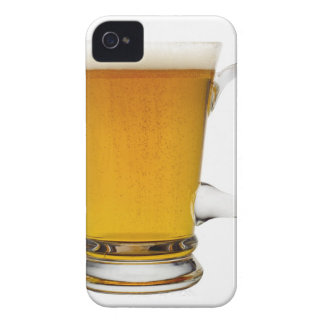 Close up of a glass of beer 2 iPhone 4 case
