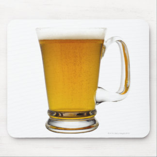 Close up of a glass of beer 2 mousepad