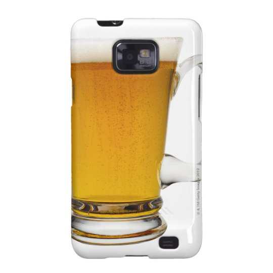 Close up of a glass of beer 2 samsung galaxy s2 cover