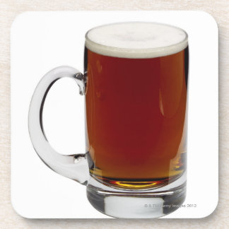 Close up of a glass of beer 3 coaster