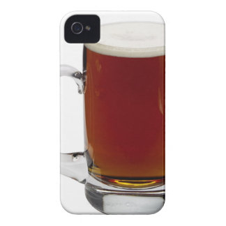 Close up of a glass of beer 3 iPhone 4 case