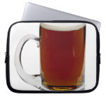 Close up of a glass of beer 3 laptop sleeves