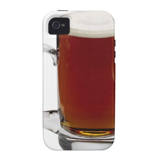 Close up of a glass of beer 3 vibe iPhone 4 cases