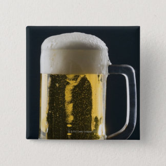 Close-up of a glass of beer button
