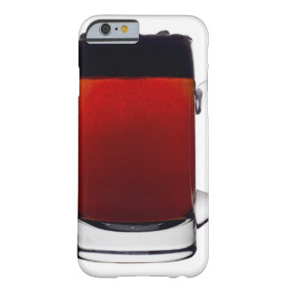 Close up of a glass of beer barely there iPhone 6 case