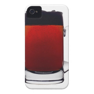 Close up of a glass of beer Case-Mate iPhone 4 case