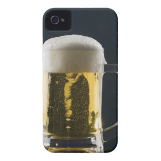 Close-up of a glass of beer iPhone 4 case