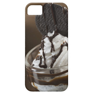 Close-up of a glass of chocolate sundae iPhone SE/5/5s case