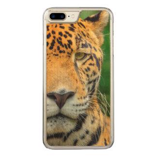Close-up of a jaguar face, Belize Carved iPhone 8 Plus/7 Plus Case