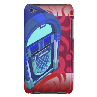 Close-up of a jukebox iPod touch cover