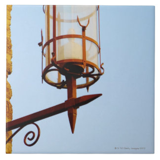Close-up of a lantern, Siena Province, Tuscany, Ceramic Tile