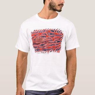 Close up of a long nose hawk fish, Okinawa T-Shirt