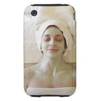 Close-up of a mid adult woman having a facial iPhone 3 tough case