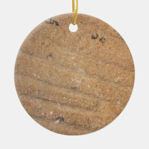 Close up of a mill stone christmas ornaments zazzle