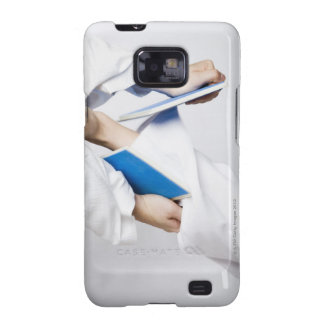 Close-up of a person's leg breaking a tile samsung galaxy s2 covers
