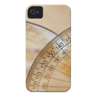 Close-up of a protractor iPhone 4 case